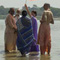 Govinda Maharaj visits the Ganges 60x60