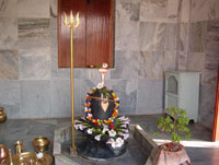 Sri Sada Shiva Gangadhar at Sri Chaitanya Saraswat Math