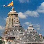 The Jagannath Temple at Puri India